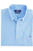 Seabrook Gingham Slim Tucker Shirt