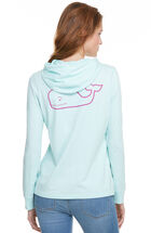 Long-Sleeve Whale Hoodie Tee