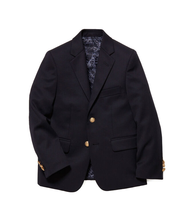 Boys 2-Button Wool Blazer (8-20)