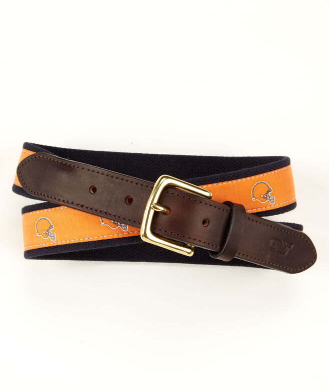Cleveland Browns Canvas Club Belt