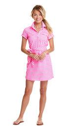 Medium Gingham Harbor Shirt Dress