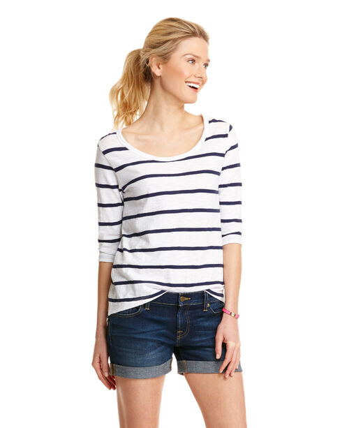 Anguilla Stripe Top