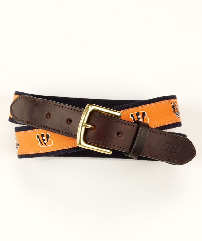 Cincinnati Bengals Canvas Club Belt