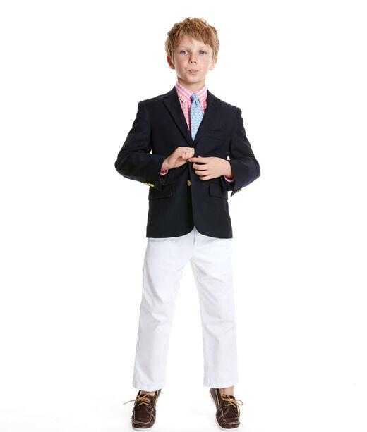 Boys 2-Button Wool Blazer (8-20)