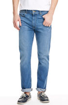 Straight-Leg Denim, Light Wash