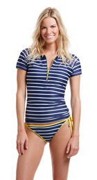 Nautical Stripe Swim Shirt