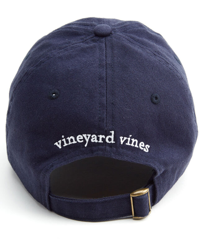 shop whale logo baseball hat at vineyard vines