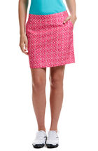 Diamond Dot Print Skort