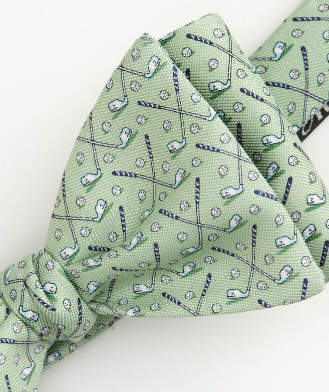 Whale Golf Club Bow Tie