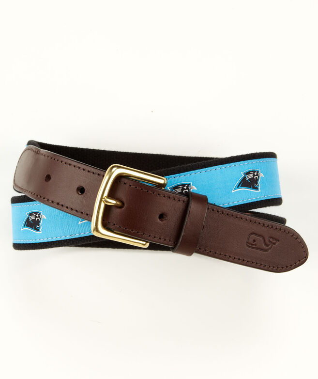 Carolina Panthers Canvas Club Belt