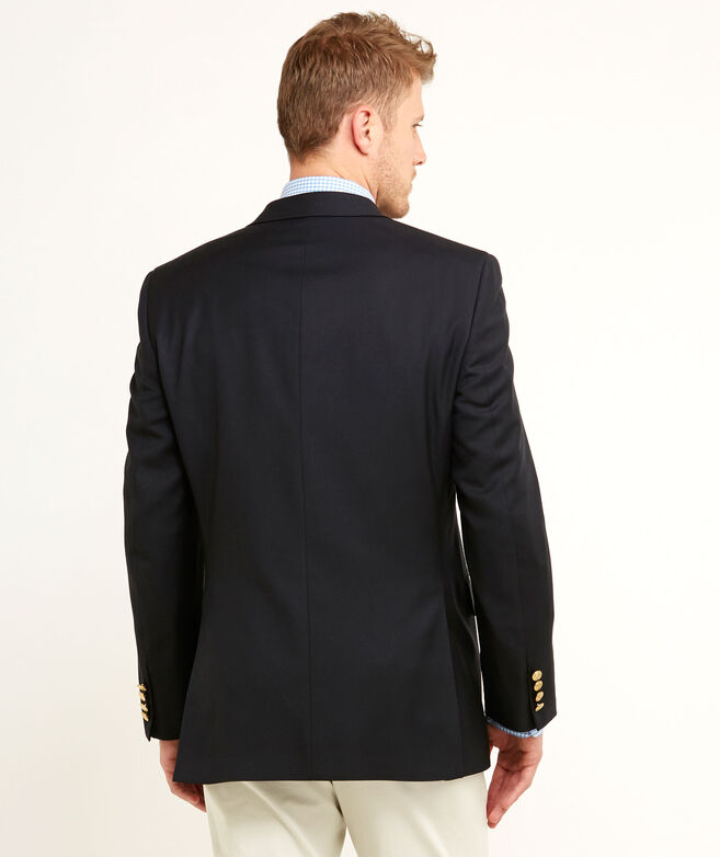 2-Button Blue Blazer