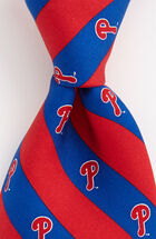 Phillies P Striped Tie