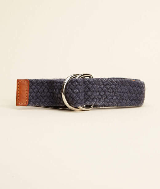 Vintage Braided D-Ring Belt