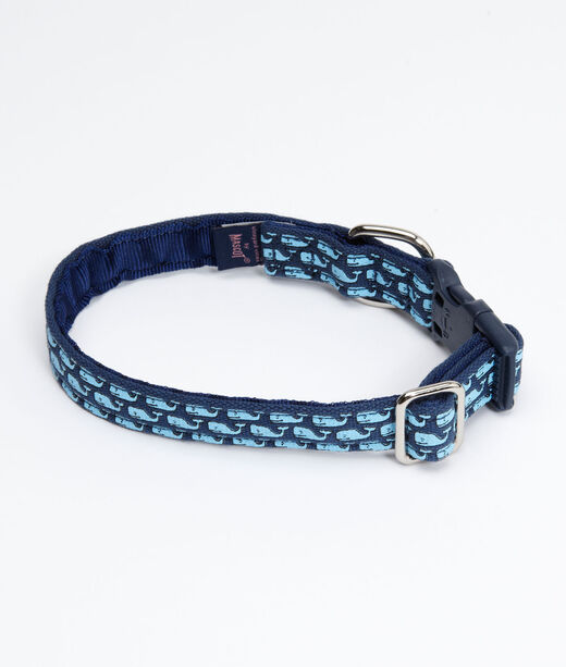 Vineyard Whale Dog Collar