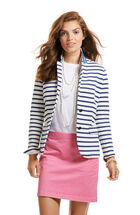 Stripe Knit Blazer