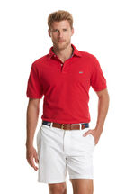 Classic American Flag Collar Polo