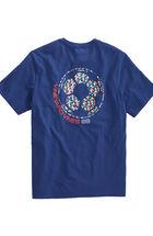 Flag Whale Soccer Ball Pocket T-Shirt