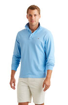 Long-Sleeve Classic Pique Polo
