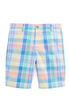 Boys Yellowfin Plaid Club Shorts