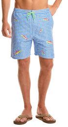 Bonefish Embroidered Cabana Shorts