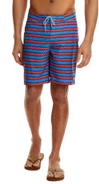 Angler Stripe Board Shorts