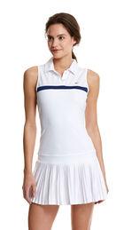 Sleeveless Pleated Tennis Dress