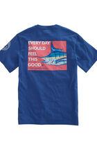 Marlin Head Pocket T-Shirt