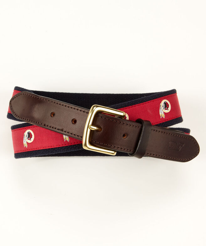 Washington Redskins Canvas Club Belt
