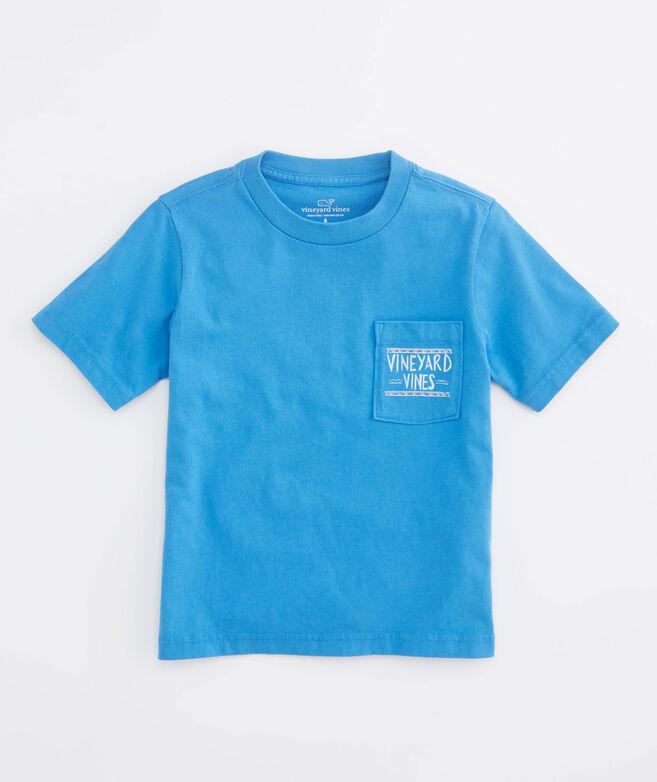 Shop Boys Surf Ride Graphic Pocket T Shirt
