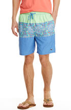 Pieced Sea Of Turtles Bungalow Shorts