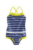 Girls Nautical Stripe Tankini