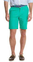 9 Inch Golf Club Embroidered Breaker Shorts