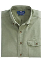 Heathered Solid Slim Crosby Shirt
