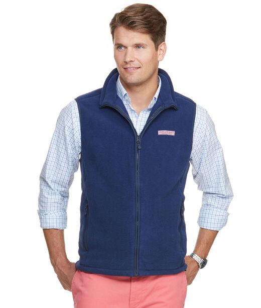 Men S Vests And Outerwear Harbor Fleece Vest For Men