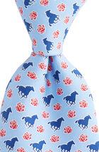 Horse & Rose Tie