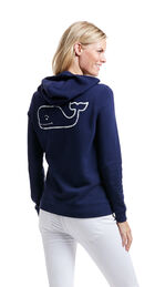 French Terry Vintage Whale Hoodie