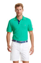 Slim Fit Tipped Detail Pique Polo