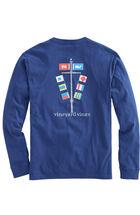 Long-Sleeve EDSFTG Flagpole T-Shirt