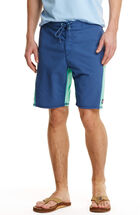 Pieced Curved  Board Shorts