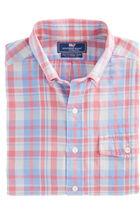 Mainsheet Plaid Slim Crosby Shirt