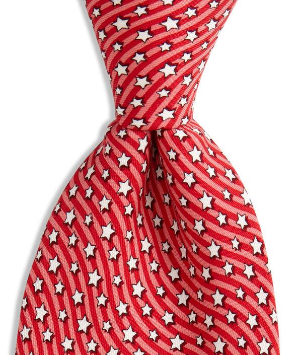 Extra Long Stars & Stripes Tie