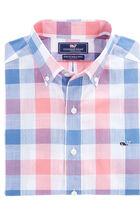 Halyard Check Slim Whale Shirt