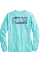 Long-Sleeve Boathouse Sign T-Shirt