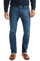 Slim-Fit Denim, Medium Wash
