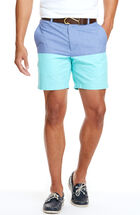 7 Inch Oxford Colorblock Breaker Shorts