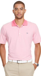 Planters Stripe Performance Polo