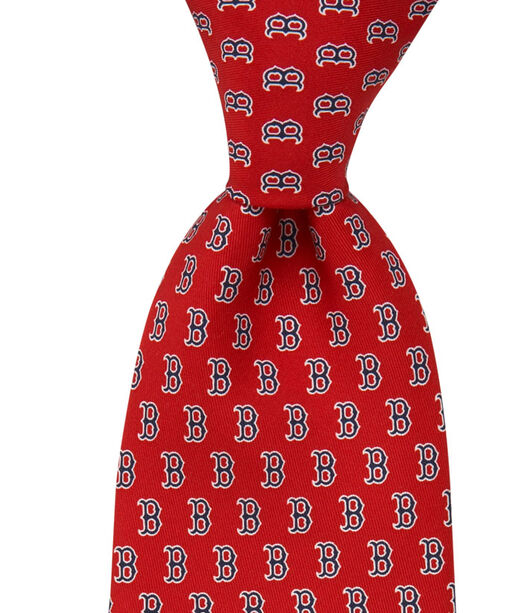 Extra Long Boston Red Sox B Tie
