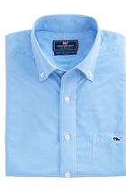 Crowell Gingham Performance Classic Tucker Shirt