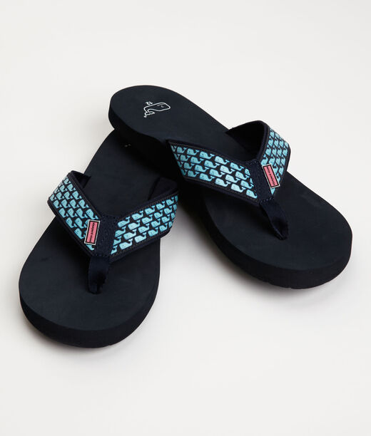 Shop Whale Flip Flop Sandals For Men Vineyard Vines