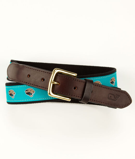 Jacksonville Jaguars Canvas Club Belt